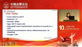TREATMENT OF INFECTED STENT GRAFT AFTER ENDOVASCULAR THERAPY OF AAA(王劲松)
