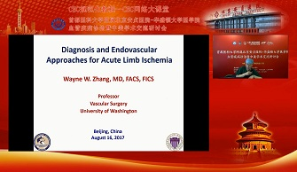 Diagnosis and Endovascular Approaches for Acute Limb Ischemia(张玮)