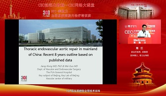 Thoracic endovascular aortic repair in mainland of China:Recent 8 years outline based on published data(熊江)